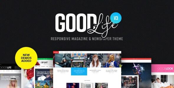 GoodLife-WordPress-Theme