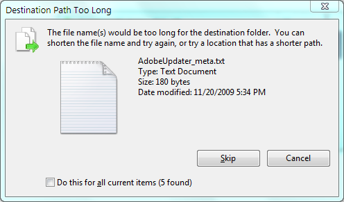 cant delete folder