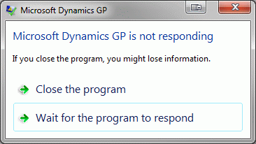 how to close a program that is not responding