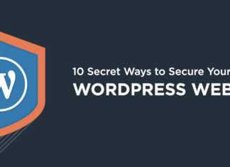 Secure a wordpress website