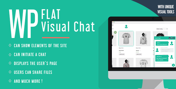 WP-Flat-Visual-Chat