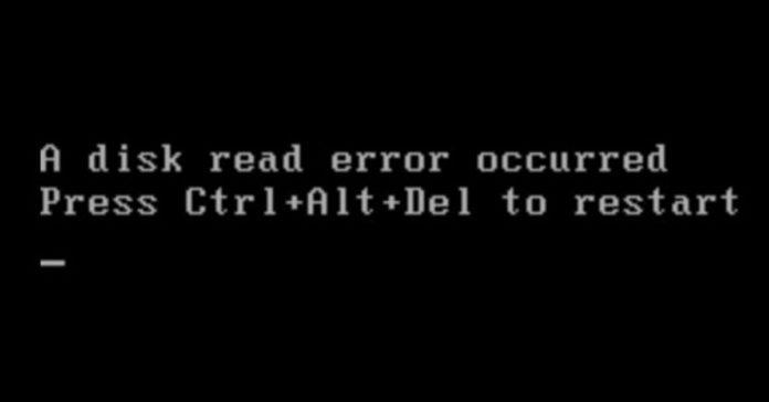 a-disc-read-error-occurred fix