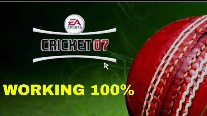 ea sports cricket 2007 pc game download