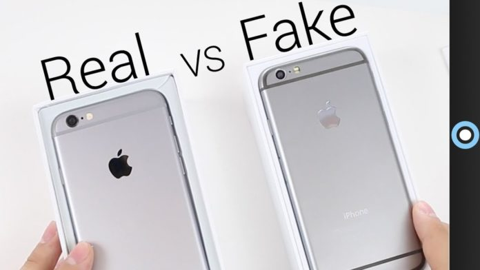 how to check if iphone is original