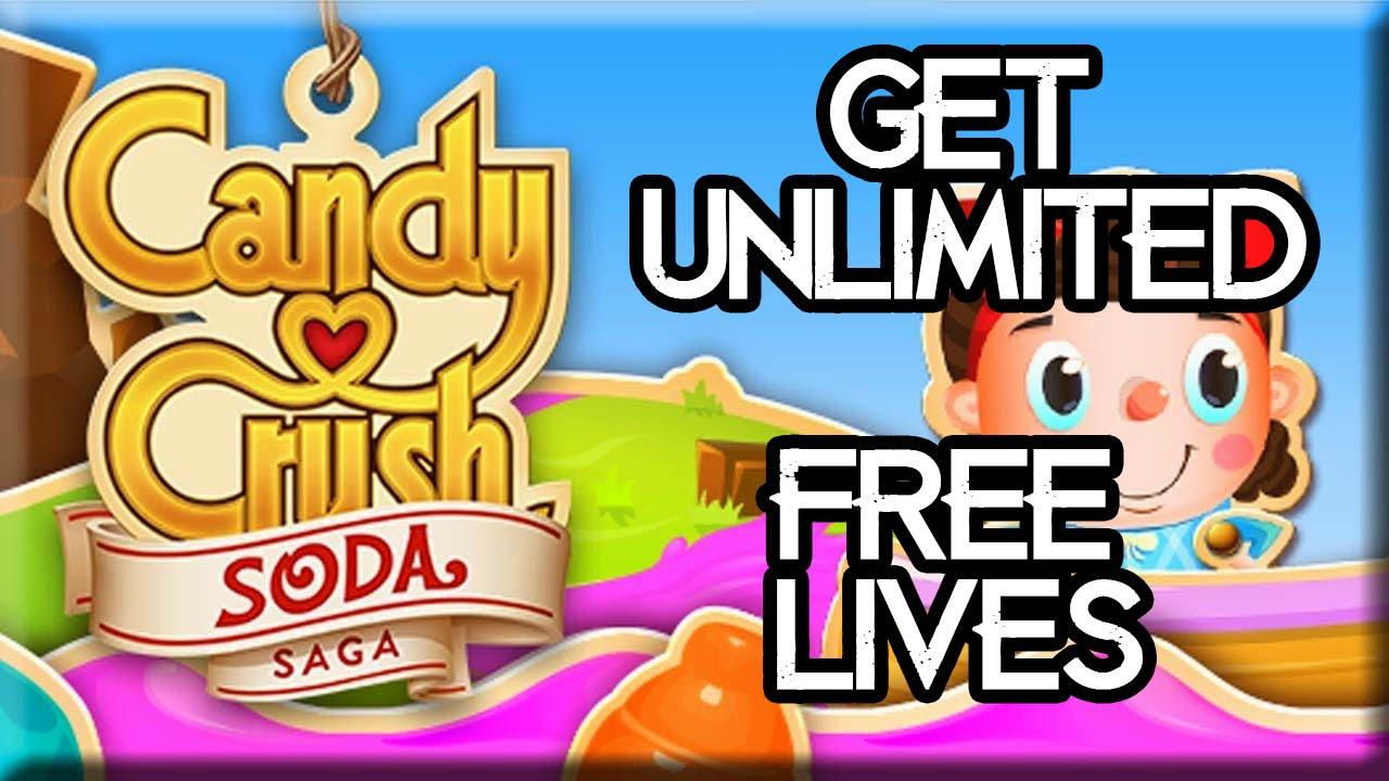 get free lives in candy crush saga