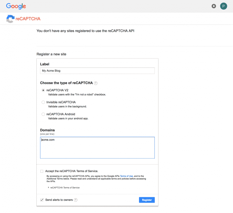 Installing-Google-Captcha-
