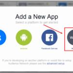 Facbook web platform