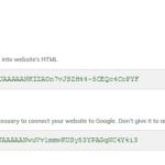 Google captcha keys