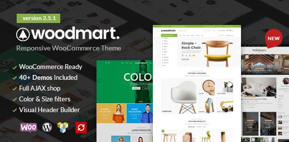 WoodMart Responsive WooCommerce WordPress Theme v3.5.2