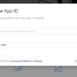 how to create facebook app id