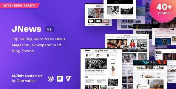 JNews - WordPress Newspaper Magazine Blog AMP Theme v4.0.7