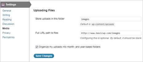 unable to create upload folder