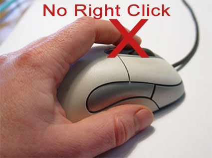 How to copy text from sites that blocks with no right click