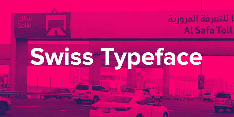 Swiss Typefaces Font Family Collection