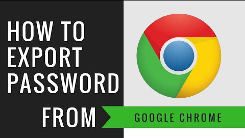 export passwords from chrome