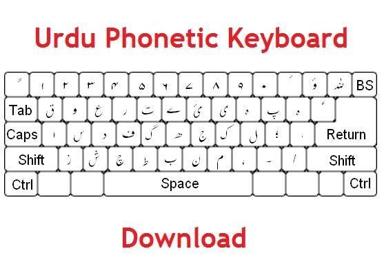 urdu phonetic keyboard