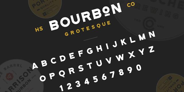 bourbon-groteskue-stylish-font