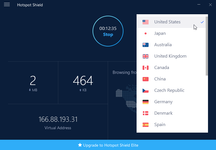 Hotspot Shield 8.7.1 VPN Elite Crack