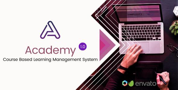 Academy - Course Based Learning Management System v2.1