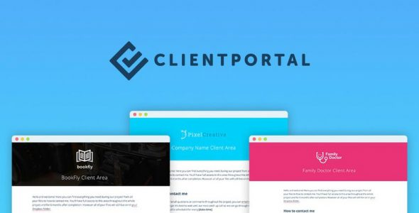 Client Portal For WordPress v4.7.3 Nulled