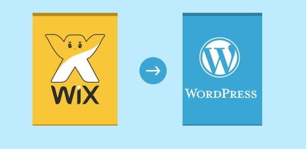 transfer website from wix to wordpress
