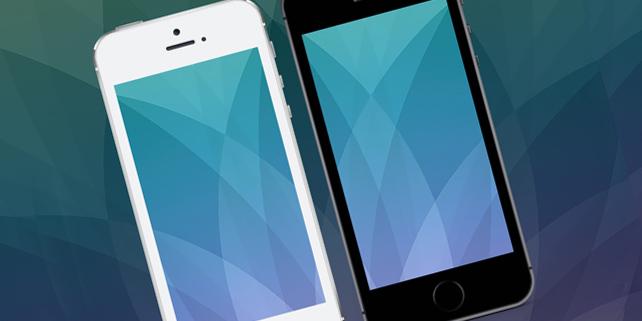 Apple iPhone SE Mockup PSD