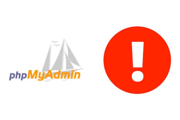 How to fix PHPMyAdmin error 1045