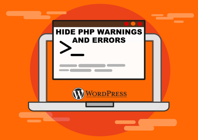 How to hide PHP warnings and notice in WordPress