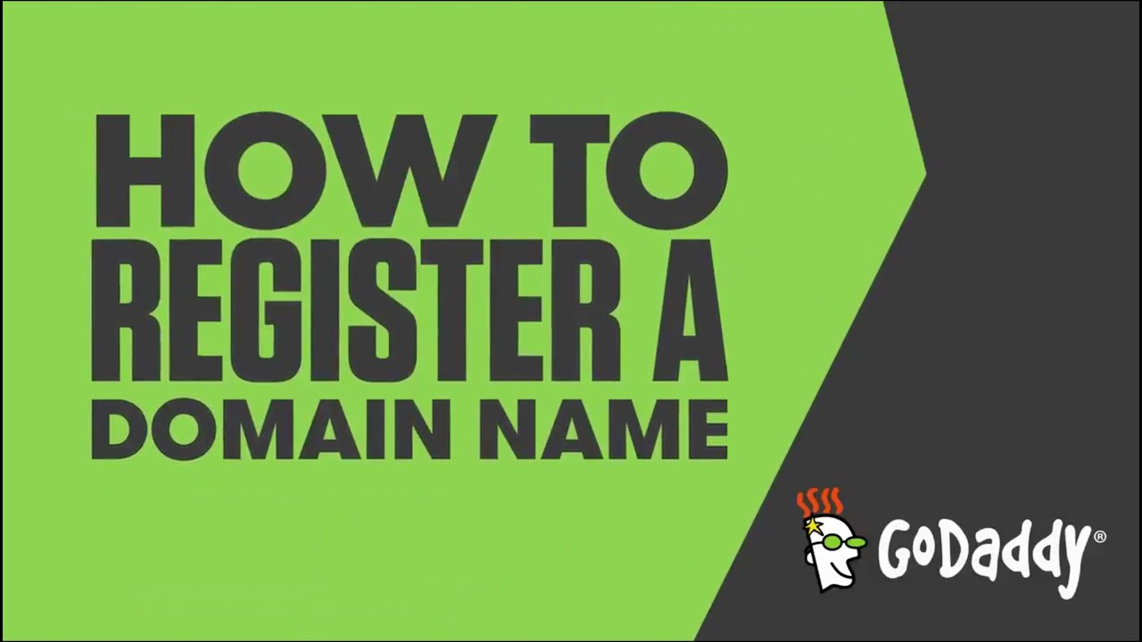 Godaddy register domain