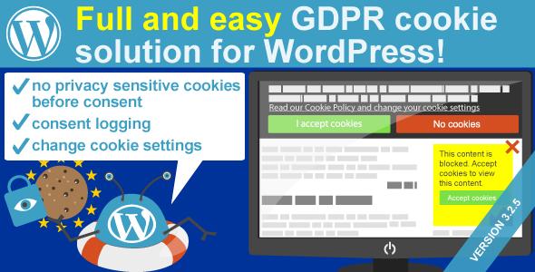 WeePie Cookie Allow Complete GDPR Cookie Consent Plugin