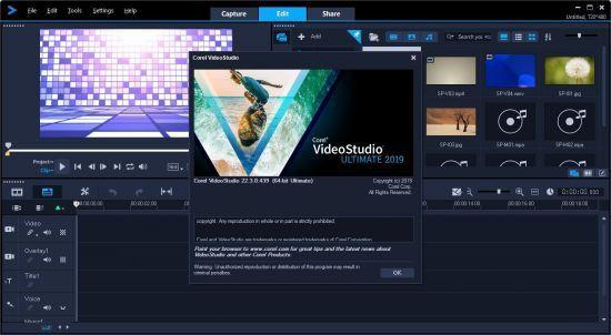 Corel VideoStudio Ultimate 2020 v23.0.1.404 with crack download