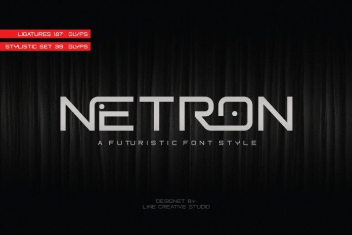 Netron Font free download