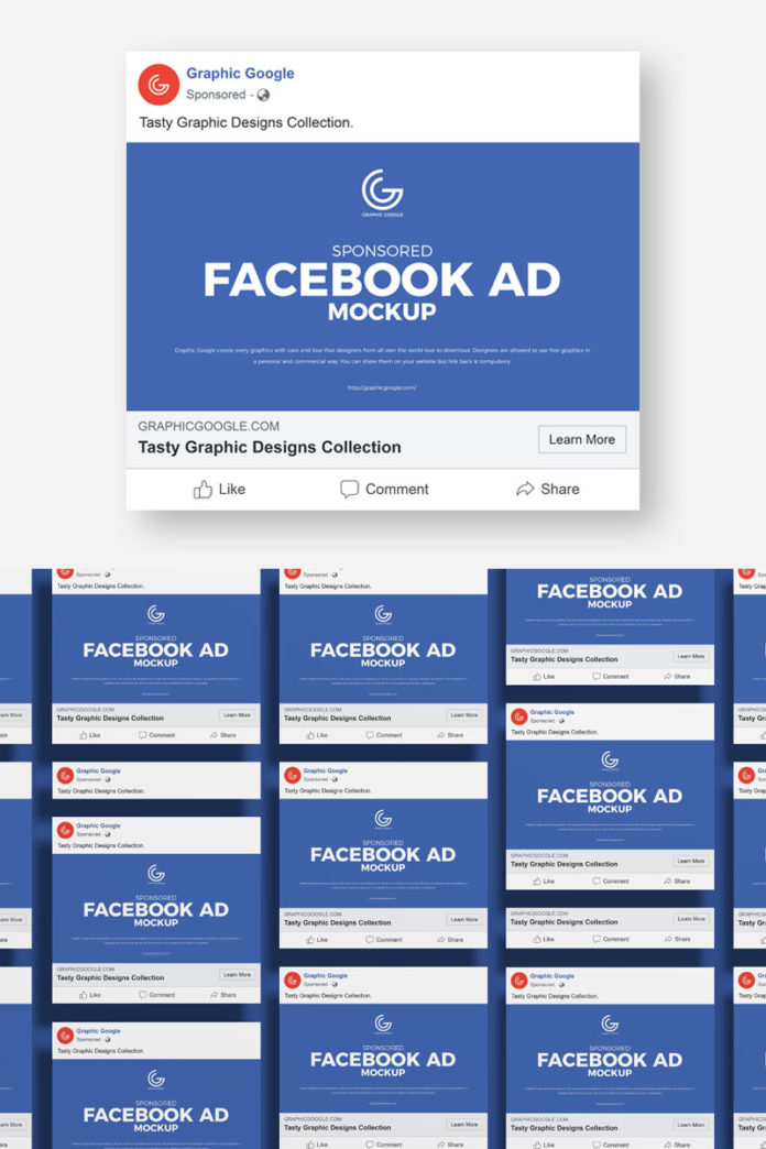 Free-Facebook-Ad-Mockup-With-Template
