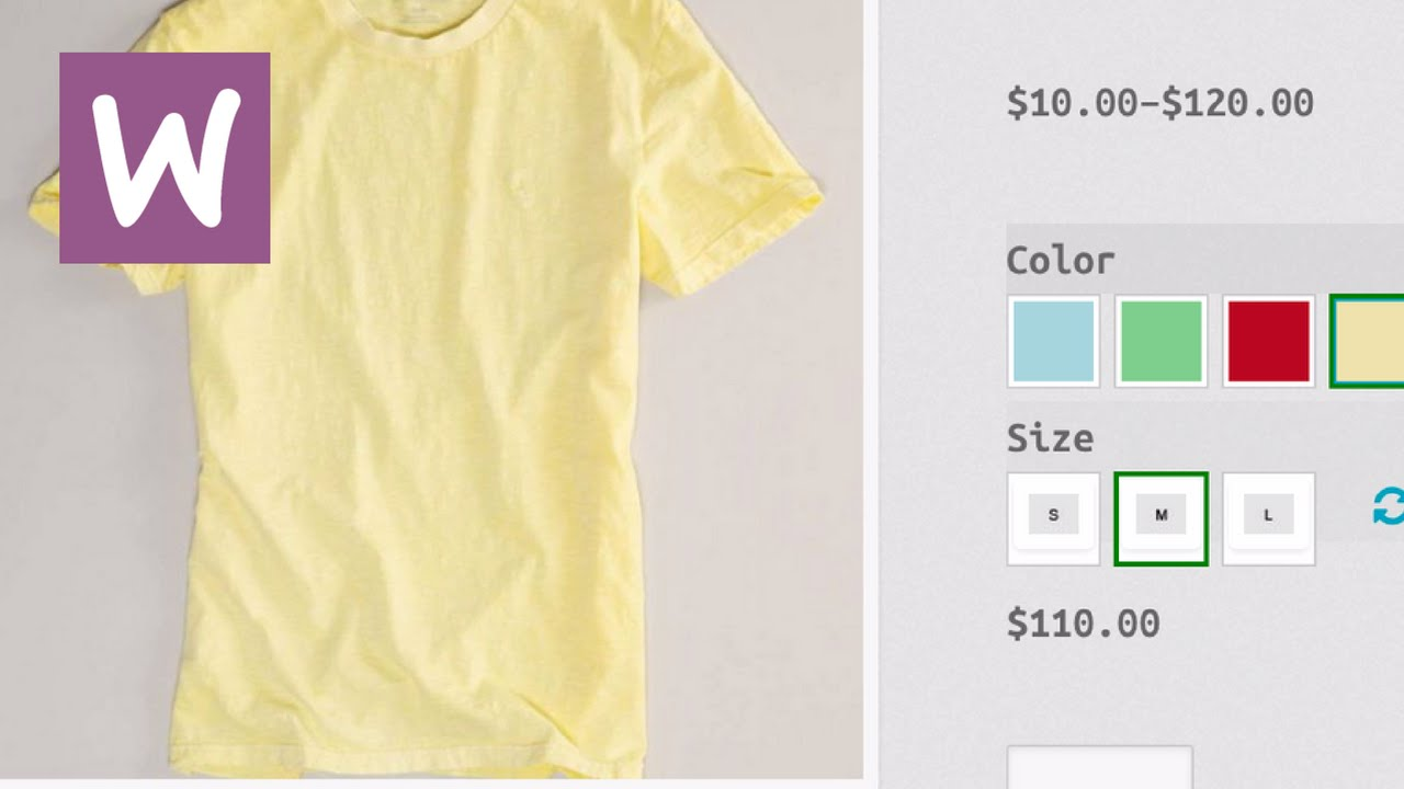 how to add color option to woocommerce product