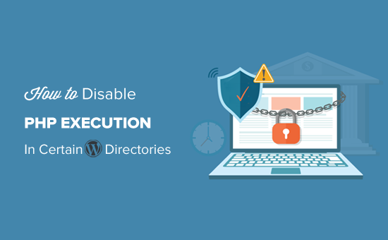 Disable file execution in the WordPress uploads folder