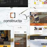Constructo – Construction WordPress Theme