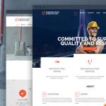 Construction Building WordPress theme