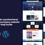 Professional construction website