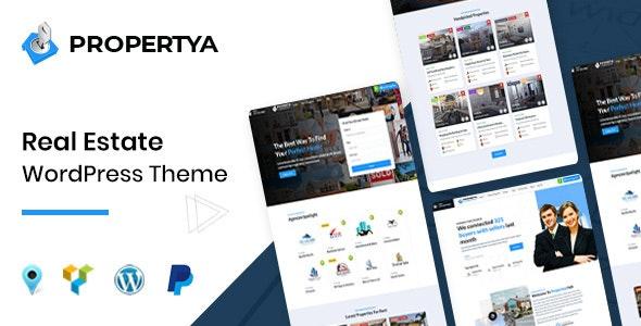 Propertya Real Estate WordPress Theme