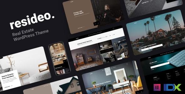 Resideo Real Estate WordPress Theme