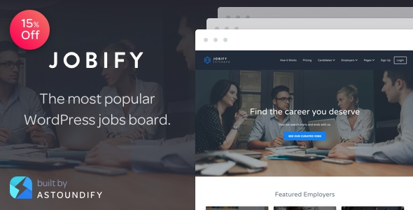 Jobify WordPress Job Board Theme