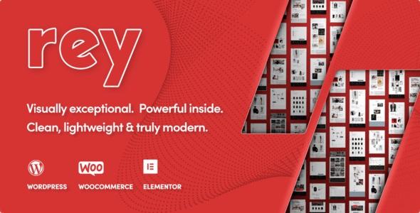 Rey WordPress Theme for Fashion & Clothing, Furniture Nulled